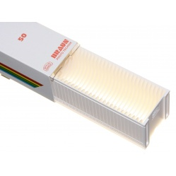 Braun Magazynek Paximat biały na ramki LKM 2 mm. 1x50