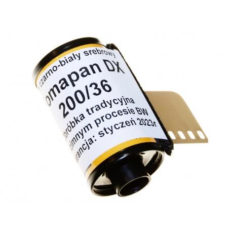 Foma Fomapan 200/36 DX negatyw film klisza BW - z puszki