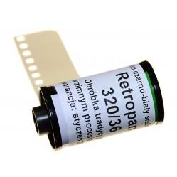 Foma Retropan 320/36 soft miękki film negatyw BW do zdjęć - z metra