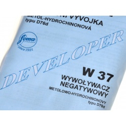 Foma Fomadon P W37 - wywoływacz do filmów na 1 litr (D76d)
