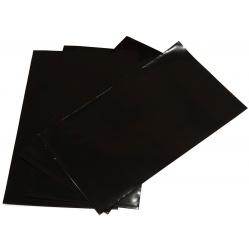 Torba torebka CZARNA na filmy błony cięte do 15x26 cm. - 4 szt.