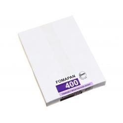 "Foma Fomapan 400 format 4x5"" 10,2x12,7 cm. 50szt. film klisza B&W"