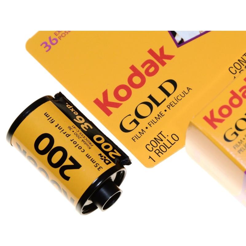 Kodak Gold 200/36 film do zdjęć kolorowych na wakacje i zabawę