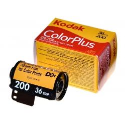 Kodak Color Plus 200/36 amatorski film kolorowy do odbitek