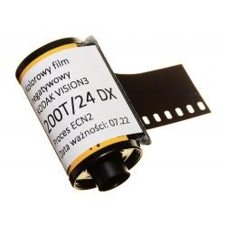 Film kolorowy Kodak Vision3 200T 200/24 DX CineStill ECN2 5213