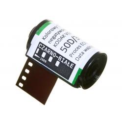 Film kinowy Kodak Vision3 50D 50/36 DX CineStill ECN2 kolorowy