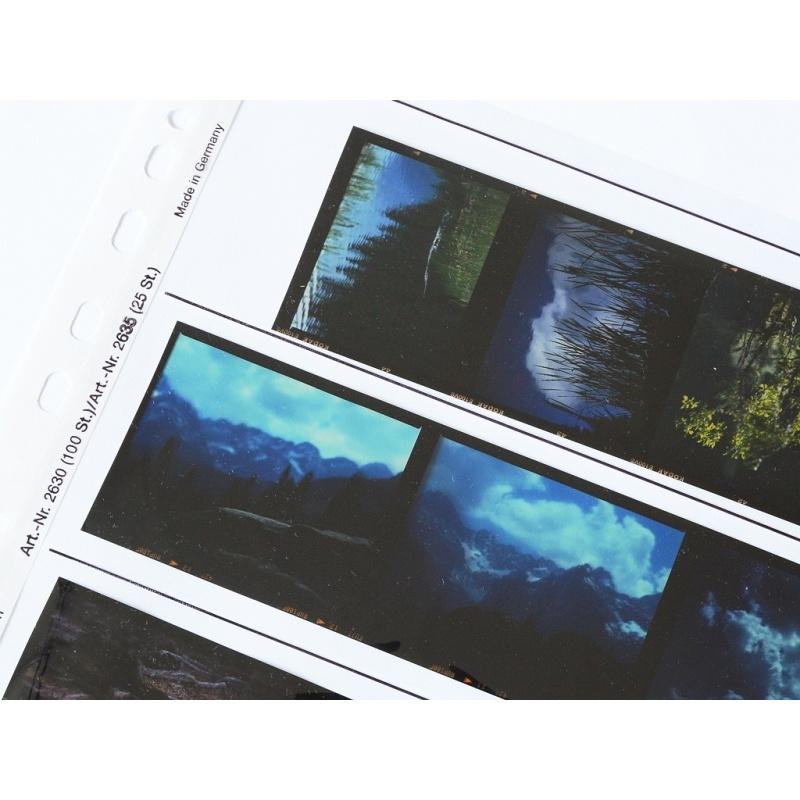 Kaiser Koszulki acetat typ 120 10 sztuk - przezroczysta folia na filmy