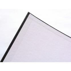 Czarno-Białe Segregator na koszulki i folie fotograficzne Z NAPISEM