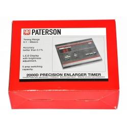 Zegar ciemniowy Paterson 2000D do zdjęć do powiększalnika