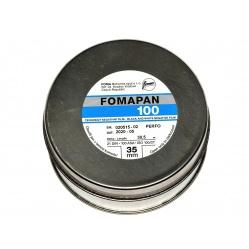Foma Fomapan 100 30,5 m. film z puszki z metra