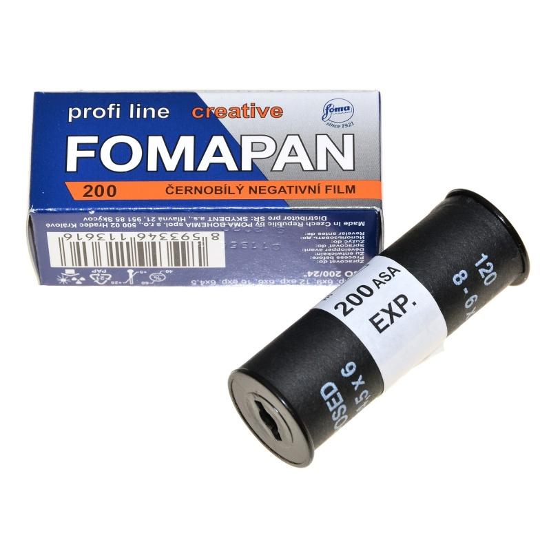 Foma Fomapan 200/120 Creative film tradycyjny B&W