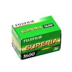 Fuji Fujifilm Superia 1600/36 film wysokoczuły