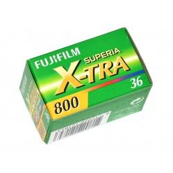 Fuji Fujifilm Superia X-Tra 800/36 klisza wysokoczuła