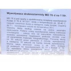 2M Wywoływacz kontrastowy MD76d na 1 litr do obróbki filmów