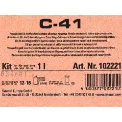 Tetenal Colortec C41 zestaw na 1 litr do wywoływania filmów kolorowych