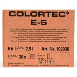 Tetenal Colortec E-6 Zestaw na 2,5 litra do wywoływania slajdów 102031